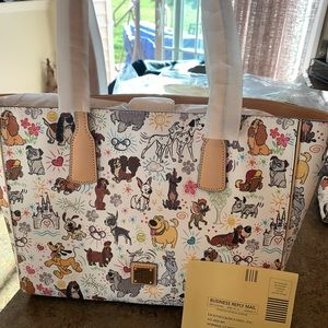 NEW Disney Dogs Sketch Tote by Dooney and Bourke
